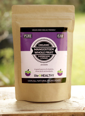 Organic Mangosteen Superfood Powder